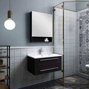 decorative bathroom hardware sets.htm lucera 24  and 30  wall hung undermount sink modern bathroom  wall hung undermount sink