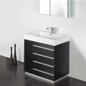 Livello 30 Modern Bathroom Vanity W