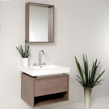 Potenza Vanity with Sink Illustration