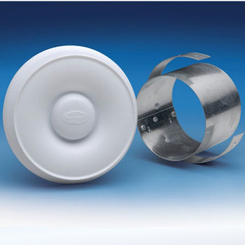 Attractive Fan Tech Room Grill With Collar, Different Sizes Available