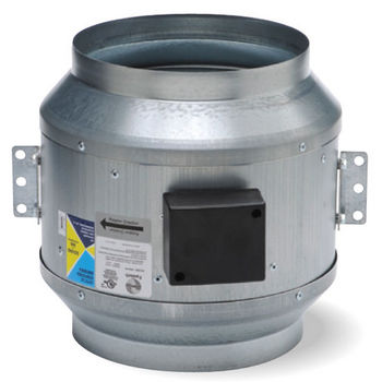 """Fantech Inline Mixed Flow Fan for 8"""" - 18"""" Duct with 836 - 6236 CFM"""