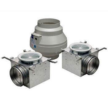 Dual Grille Premium Bathroom Exhaust Fans