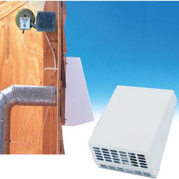Fantech Exterior Wall Mount Centrifugal Fan, 124 - 435 CFM