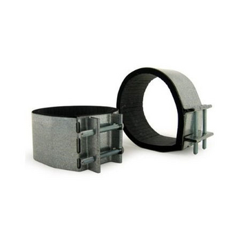 """Air-Pro 6"""" Mounting Clamps for Inline Blowers (2 per set)"""