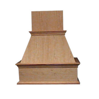 Air-Pro (Formerly Fujioh) Decorative Island Mount Wood Range Hood