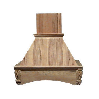 Air-Pro (Formerly Fujioh) Arched Corbel Wall Mount Wood Range Hood