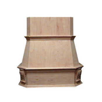 Air-Pro (Formerly Fujioh) Victorian Island Mount Wood Range Hood