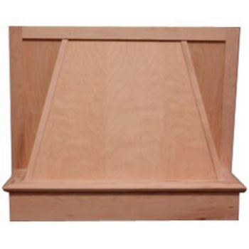 Air-Pro (Formerly Fujioh) Plain Valance Wall Mount Wood Range Hood