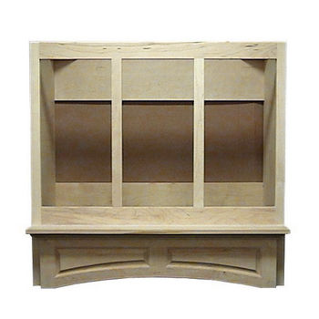 Air-Pro (Formerly Fujioh) Decorative Mantle Wall Mount Wood Range Hood