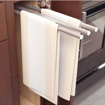 Towel Organizers - Pull-Out and Door Mounted Towel Racks