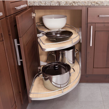 Corner Organizers - Shop for Blind Corner Kitchen Cabinet Optimizers ...