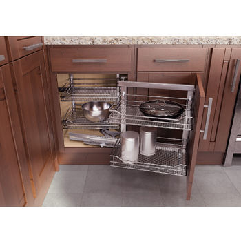 Kitchen Cabinet Accessories Blind Corner corner organizers - shop for blind corner kitchen cabinet