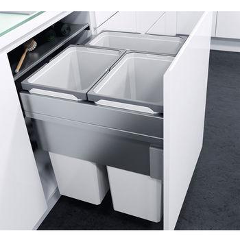 Waste System w/ 3 Bins - Installed