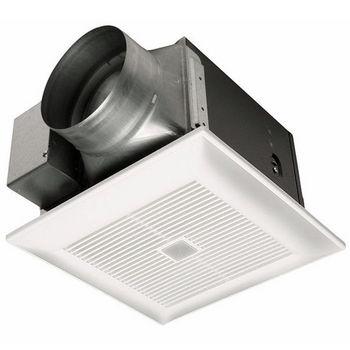 Panasonic 130 CFM Motion Sensing Continuous And Spot Bathroom Fan