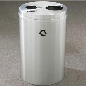RecyclePro II Receptacles for Bottles, Cans & Waste