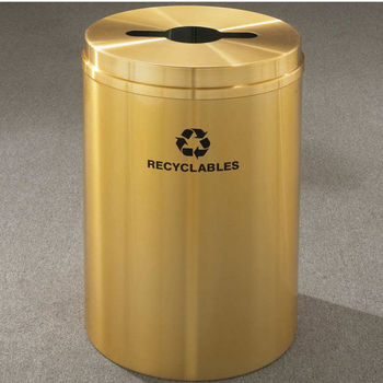 RecyclePro I for Mixed Recyclables with Multi-Purpose Opening, 16 Gallons
