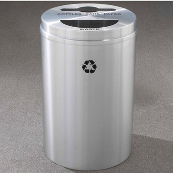RecyclePro II Receptacles for Paper, Cans & Waste