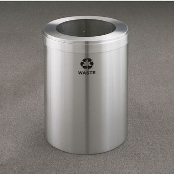 RecyclePro Value Series with Single Purpose, Large Opening for Waste & Trash, 41 Gallons