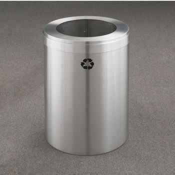 RecyclePro Value Series with Single Purpose, Large Opening for Waste & Trash, 15 Gallons