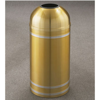 Capri WasteMaster™ Collection Open Dome Top Waste Receptacles