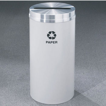 Glaro RecyclePro® Collection 16 Gallon Paper Receptacles