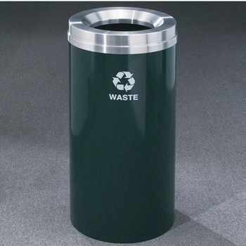 Glaro RecyclePro® Collection 16 Gallon Waste Receptacles