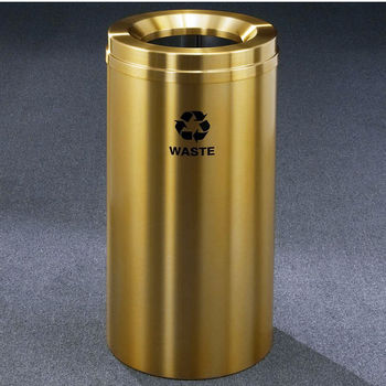 Glaro RecyclePro® Collection 16 Gallon Waste Receptacle