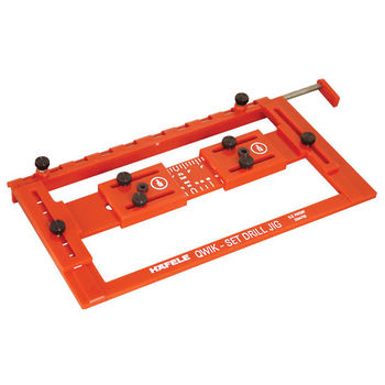 Hafele Quick Set Drilling Jig For Precise Drilling And
