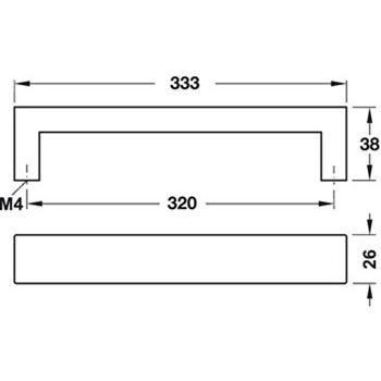 333mm Specifications