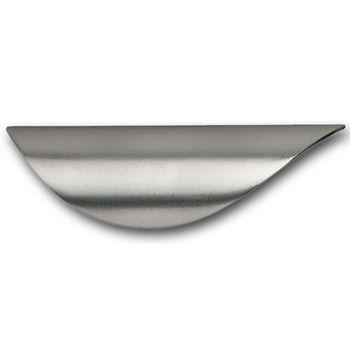 Hafele HA-105.46.600 Modern Curved Handle 93mm (3-3/4'') Wide