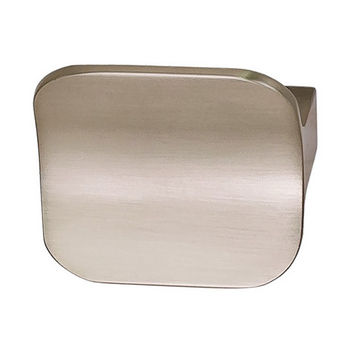 """Hafele Studio Collection H1550 (1-3/4""""W) Pull Handle in Brushed Nickel, 44mm W x 25mm D x 40mm H"""
