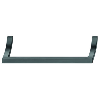 Hafele 170mm (6-11/16'' W) Brushed Black Nickel