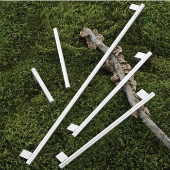 Hafele Aluminum Handle 126mm (5'') to 990mm (39'') Wide