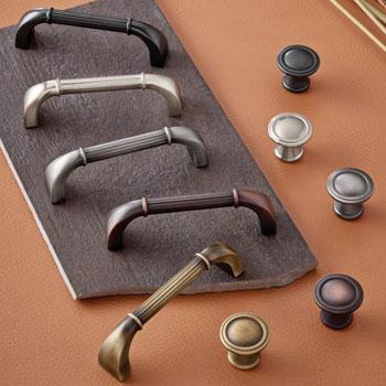 Hafele Keystone Fluted Style Collection Handle
