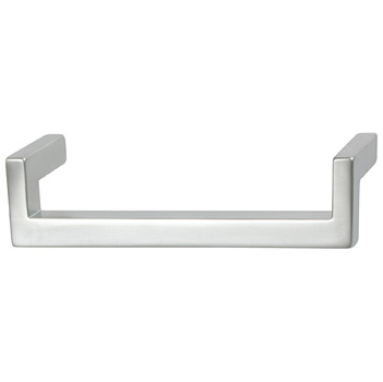 "Cornerstone Series Modern Handle (5-3/8"" W) Handle in Matt Aluminum"