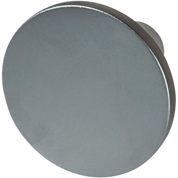 "Cornerstone Series Elite Handle (1-1/8"" Diameter) Mid-Century Modern Knob in Slate/Graphite"