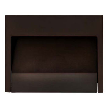 Hafele Nuovo Collection Mortise Pull in Oil-Rubbed Bronze, 100mm W x 18mm D x 80mm H