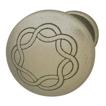 Hafele HA-120.70.921 Traditional Round Knob 30mm (1-1/4'') Diameter