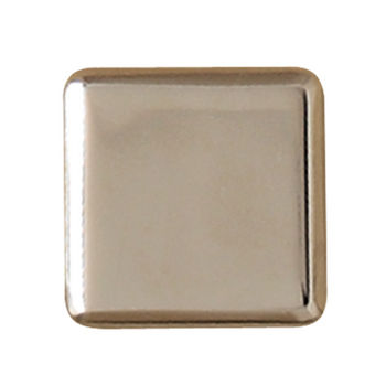 Hafele Georgia Collection Knob in Polished Nickel, 25mm W x 21mm D x 25mm H