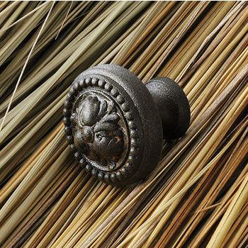 Hafele Artisan Collection Knob with Rust Finish