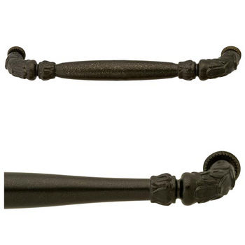 Hafele Artisan Collection Handle with Oil-Rubbed Bronze Finish