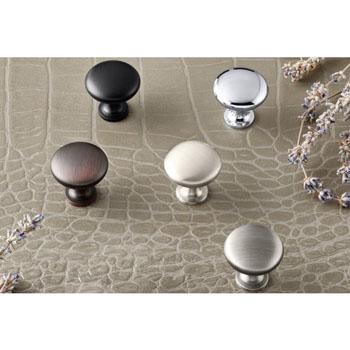 Hafele Amerock Allison Collection Round Traditional Knob