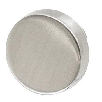 """Hafele 44mm (1-3/4"""" Diameter) Satin/Brushed Nickel"""