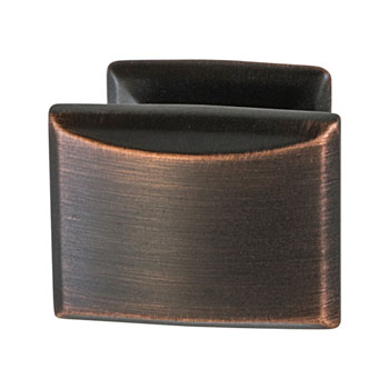 Hafele Amerock Candler Collection Knob, Oil-Rubbed Bronze, 32mm W x 25mm D x 29mm H