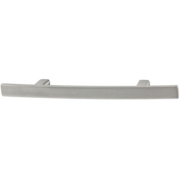 Hafele Amerock Cyprus Collection Handle, Satin Nickel, 167mm W x 13mm D x 29mm H, 96mm Center to Center