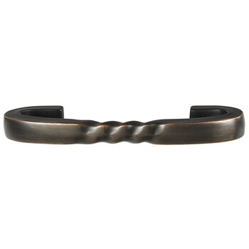 Hafele 105mm (4-1/8'' W) Oil-Rubbed Bronze