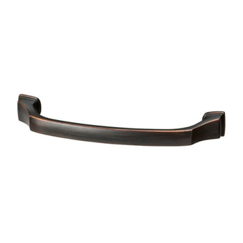 Hafele Amerock Revitalize Collection Handle, Oil-Rubbed Bronze, 143mm W x 17mm D x 40mm H, 128mm Center to Center