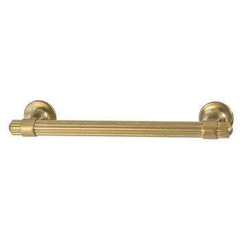 Hafele Amerock Sea Grass Collection Handle, Golden Champagne, 159mm W x 25mm D x 35mm H, 128mm Center to Center