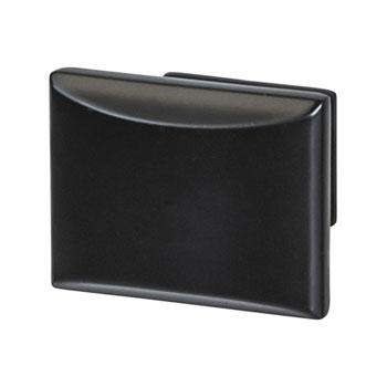 Hafele Amerock Candler Collection Knob, Black Bronze, 32mm W x 25mm D x 29mm H