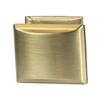Hafele Amerock Candler Collection Knob, Golden Champagne, 32mm W x 25mm D x 29mm H